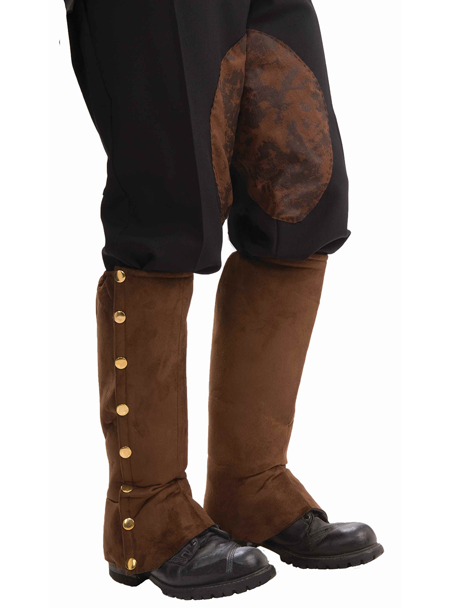 9d8ac1e3d Comprar Cubrebotas de Steampunk marrón para hombre   Fiestas ...