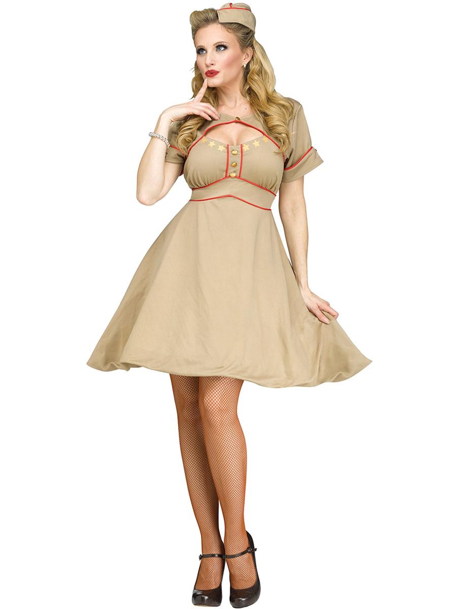 635cd2d54 Comprar Disfraz de Chica de la Armada años 50 para adulta ...