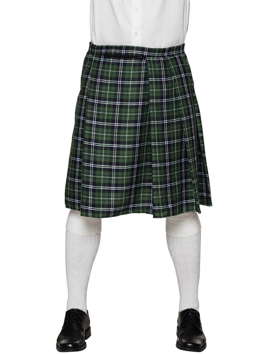 f10bf71a9 Comprar Falda Escocesa Verde para adulto   Accesorios Textiles para ...