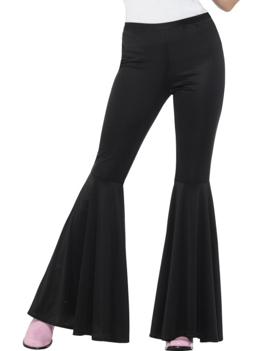 Textiles Para Comprar Pantalón Accesorios Mujergt; Acampanado Negro vmOPyw8Nn0
