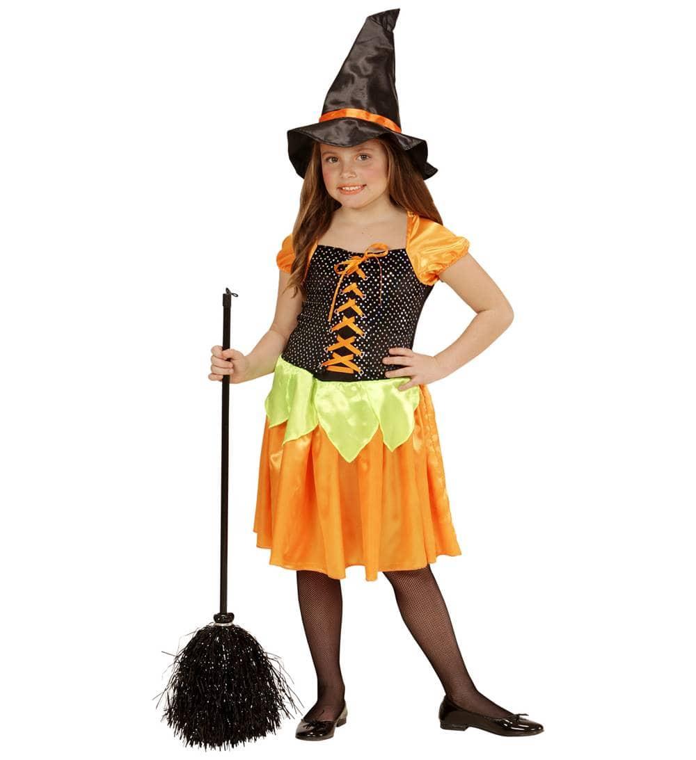 Comprar disfraz bruja calabaza con lentejuelas hologr ficas - Articulos halloween baratos ...
