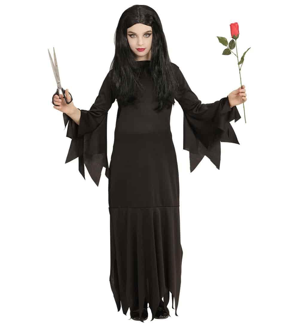 Comprar disfraz infantil de morticia - Articulos halloween baratos ...