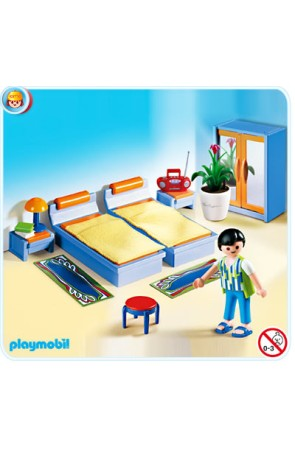 4284 Dormitorio  PLAYMOBIL