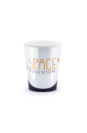 "6 vasos ""Space Adventure"" de papel - Space Party"