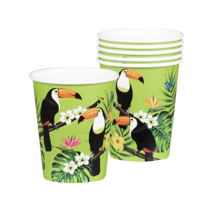 6 vasos de tucanes - Toucan Party