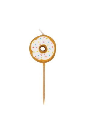 6 velas (7 cm) - Donut Party