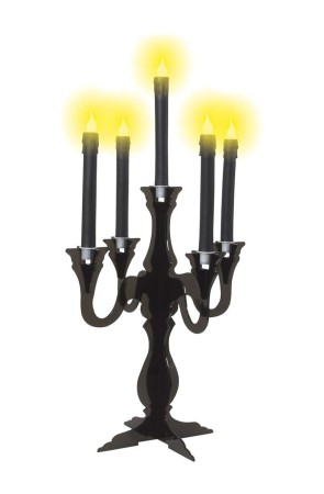Candelabro color negro
