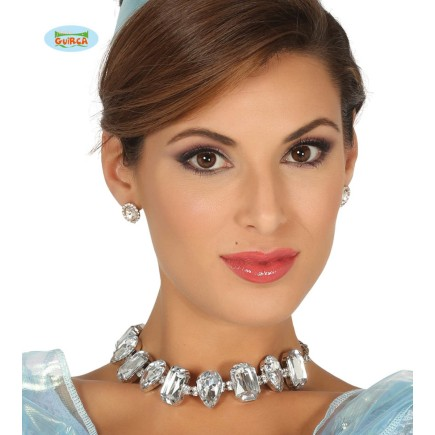 Collar de brillantes de princesa