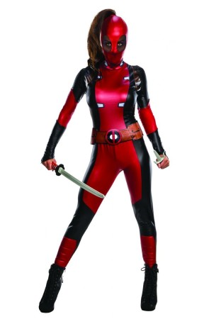 Disfraz Deadpool Secret Wishes para mujer