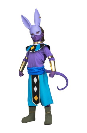 Disfraz Dragon Ball Beerus infantil