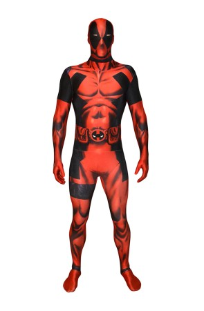Disfraz de Deadpool digital Morphsuit