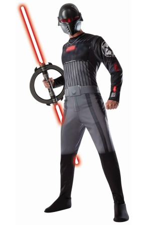 Disfraz de Inquisidor Star Wars Rebels para hombre