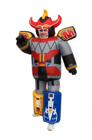 Disfraz Megazord Power Ranger adulto