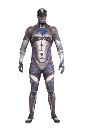 Disfraz de Power Ranger negro Movie Morphsuits para adulto