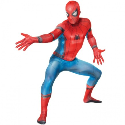 Disfraz de Spiderman Homecoming Morphsuit para adulto
