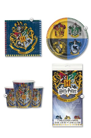Kit de fiesta Harry Potter Casas 8 personas