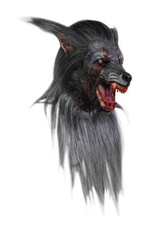 Máscara de Black Wolf