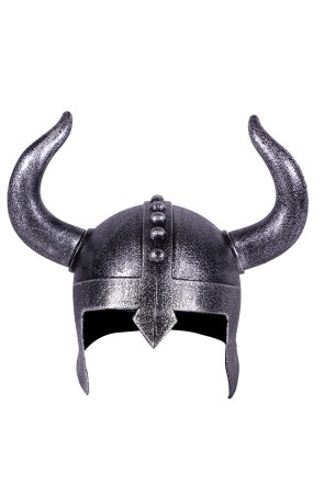 Casco Vikingo efecto Metal adulto