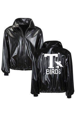 Chaqueta  adulto Cuero Grease T-Birds  ..