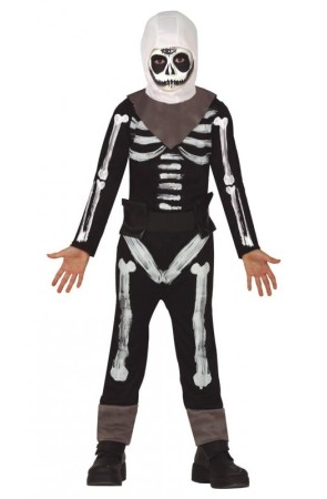 Disfraz de Fortnite Skull Trooper para niño