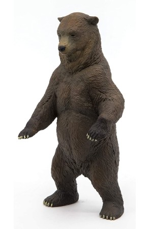 Figura de Animal del Bosque Oso Grizzly