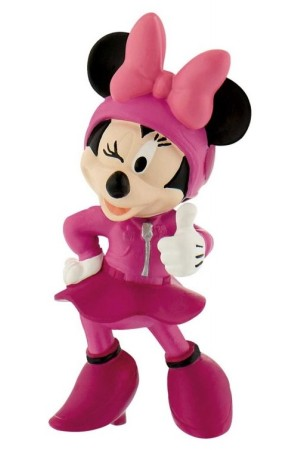 Figura Mickey y Los Superpilotos Minnie Carrera