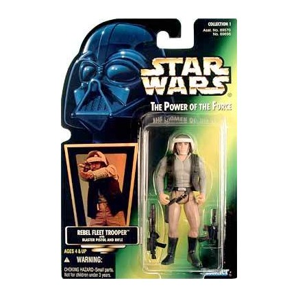 FIGURAS STAR WARS CLASIC (REBEL FLEET TROOPER)