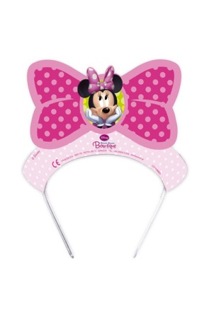 PACK 6 TIARAS MINNIE BOW-TIQUE
