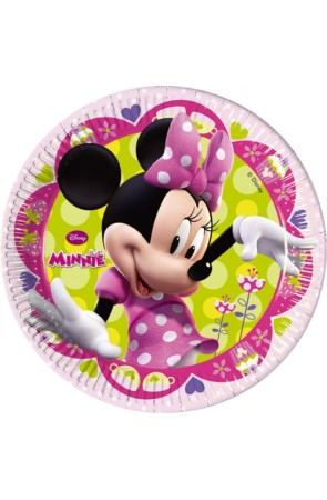 PACK 8 PLATOS MINNIE 20CM
