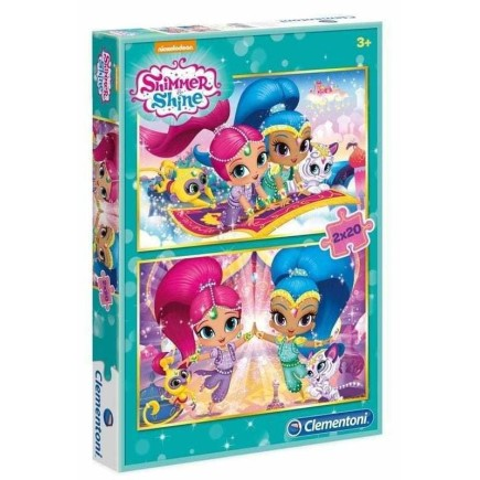 Pack de 2 Puzzles Shimmer And Shine