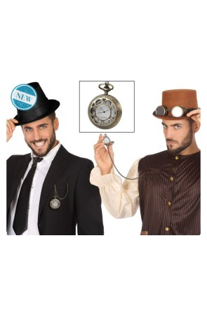 Reloj de bolsillo Steampunk Economic