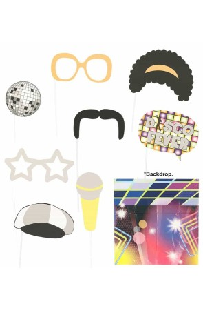 Set Photocall Disco 9 pcs