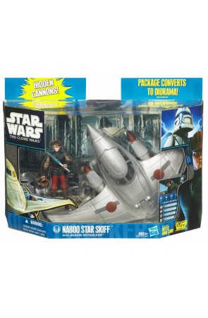 STAR WARS ANAKIN + NABOO STAR SKIFF