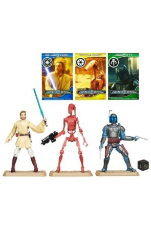 STAR WARS PACKS DE BATALLA GEONOSIS ARENA BATTLE