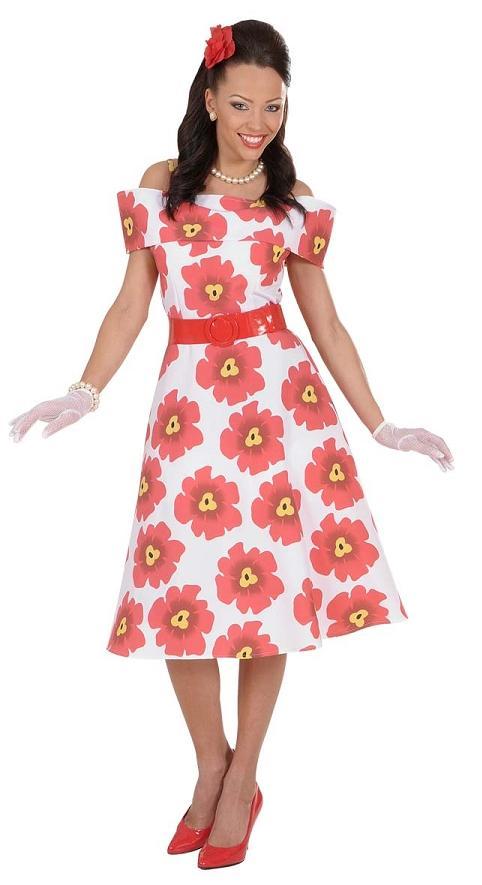 Comprar Disfraz años 50 Floreado talla M   Disfraces para Mujeres ... a2891c014d4